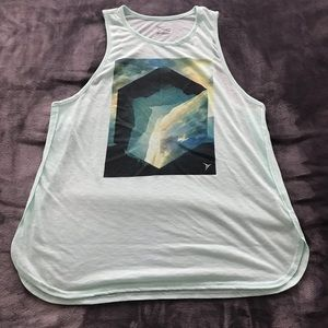 OLD NAVY ACTIVE relaxed graphic performance tank